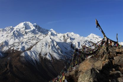 Langtang mountains