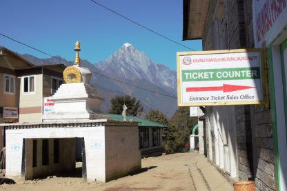 ticket counter to khumbu pasanglhamu rural municipality