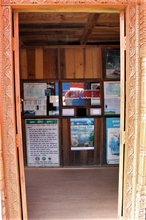 Langtang ticket counter