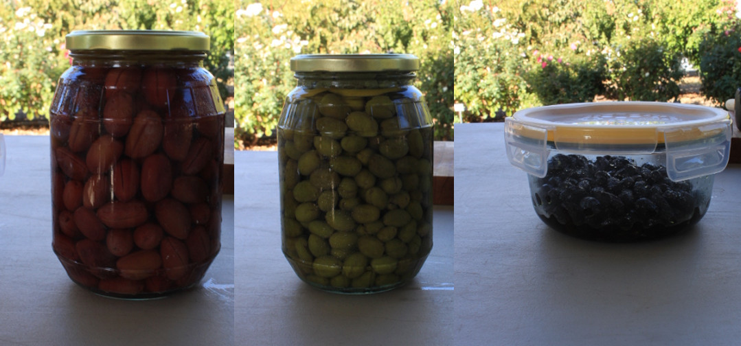 processing olives